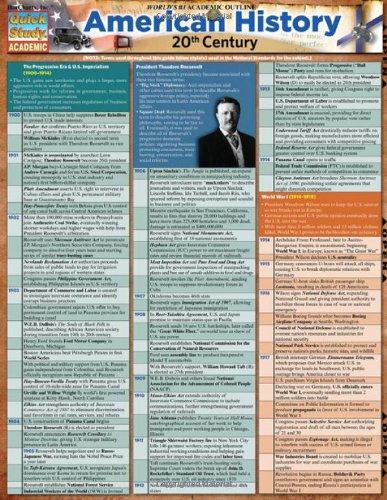 american-history-20th-century-quickstudy-academic
