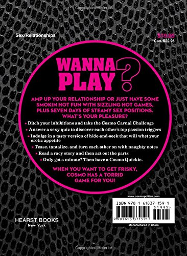 Cosmo's Little Big Black Book of Sex Games: It's Play Time! Bonus: 7 Days of Sex Positions (Hearst)