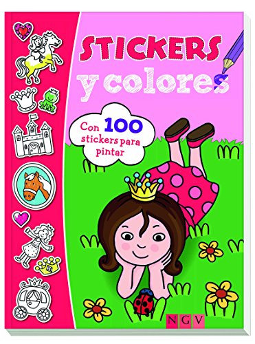 Princesas. Stikers y colores (Stickers y colores)