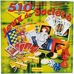 Partner Jouet - A1101894 - Jeu de Société - Coffret - 510 Jeux