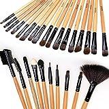 Best ACEVIVI Eye Shadow Brushes - Apricot 32pcs brushes : ACEVIVI Professional Makeup Brushes Review