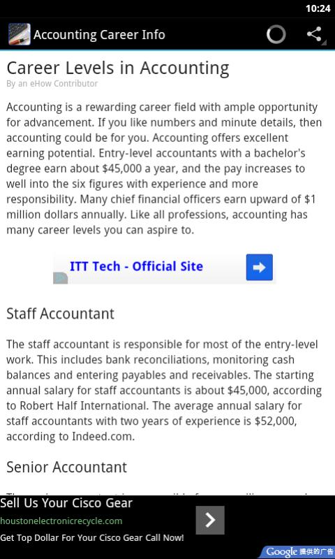 Accounting Career: Amazon co uk: Appstore for Android