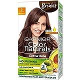 Garnier Color Naturals Crème hair color, Shade 5 Light Brown, 70ml + 60g