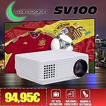 Proyector con TDT Luximagen SV100 Blanco con TDT HD, USB, HDMI, VGA, AC3