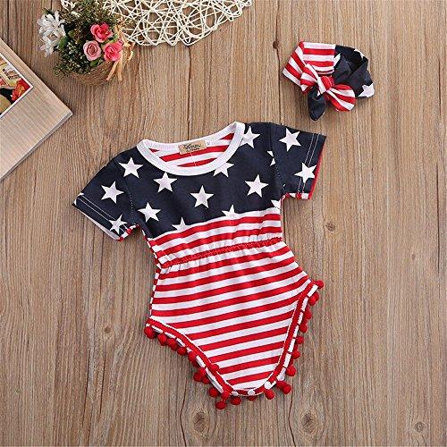 ünf-Sterne-Roben Explosion Abschnitt Flagge Fünf-Sterne-Roben Baby-Kleidung, Bild Farbe, 70 ()