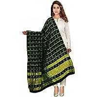Panihari Bandhani womens Orignal Bandhej Silk Dupatta With Chex And Lagdi Pallu 10 Colours (2.5 Meter)