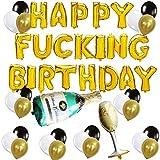 Toutes nos félicitations! Bon anniversaire ! Nous avons sélectionné à la main le kit de décoration d'anniversaire drôle afin que vous puissiez décorer avec facilité.Ces décors de fête d'anniversaire sont parfaits pour vous! drôle, ludique et de haute...