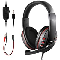 Gaming Headset for PS4 Xbox One, JAMSWALL 3.5mm Wired Ove...