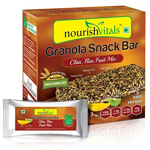 Nourish Vitals Granola Snack Bar – 250g