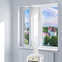 Blinngo Fensterabdichtung Für mobile Klimageräte und Abluft-Wäschetrockner 400cm Universal Window Seal for Portable Air…