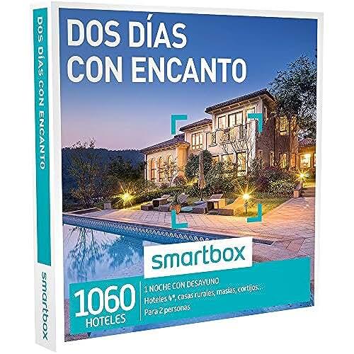 ofertas para el dia de la madre SMARTBOX - Caja Regalo -DOS DÍAS CON ENCANTO - 1060 hoteles de hasta 4*, casas rurales, masías y cortijos en España, Italia, Francia y Portugal