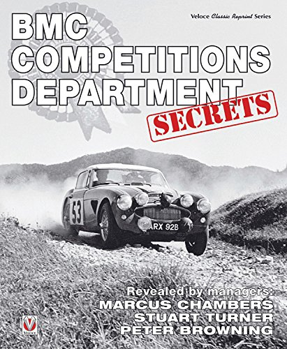 BMC Competitions Department Secrets por Peter Browning, Marcus Chambers, Stuart Turner