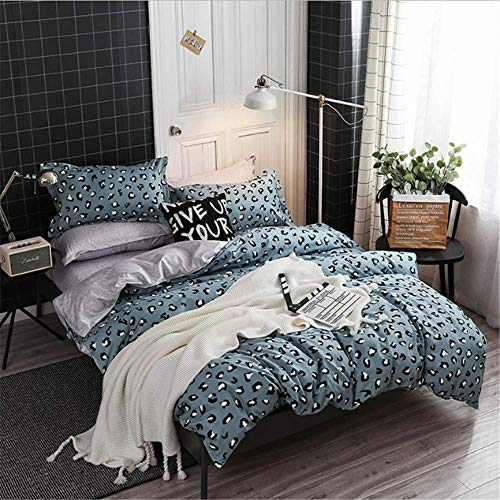 SHJIA Kinder Jungen Mädchen Bettwäsche Set Baumwolle Bettwäsche Einzel Twin Full Queen Size Bettbezug Tagesdecke D 220x240cm (Bettwäsche Twin Mädchen)