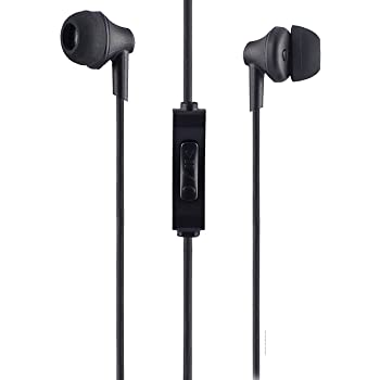 Sound One 616-P Earphones with Mic, 3.5 Mm Jack for All Android,iOS Smartphones (Black)