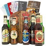Biere der Welt Geschenkbox | Inkl. Bierbuch + Geschenk Karten Set + Bierbewertungsbogen | Bierset für echte Männer