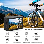Crosstour 4K 20MP Action Camera Webcam WiFi EIS Waterproof 40M with External Microphone and Remote Control 11