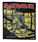 Unbekannt Iron Maiden Aufnäher - Piece Of Mind - Iron Maiden Patch - Gewebt & Lizenziert !!