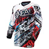 O'Neal Element Motocross Jersey ACID blau rot Motocross Enduro Cross