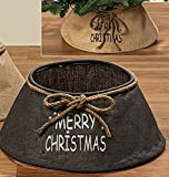 Jute Details zu ABDECKUNG für Weihnachtsbaumständer Grau Braun Christbaumständer Deko Jutesack Baumständer Dekoration Weihnachtsdeko
