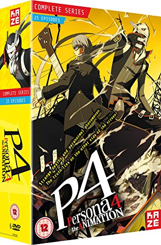 Produktbild Persona 4 The Animation - Complete Season Box Set (Episodes 1-25) [6 DVDs] [UK Import]