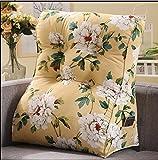 YOTA HOME Bedside Rückenlehne Triangle Kissen Sofakissen Nachtpflege Hals Taille Lendenkissen durch Das Paket (Größe : 55*60CM)