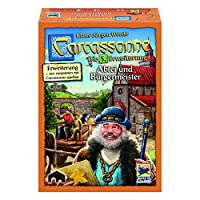 Hans-im-Glck-Schmidt-Spiele-48257-Carcassonne-Abtei-und-Brgermeister-Erweiterung-5-Neue-Edition-Spiel-und-Puzzle
