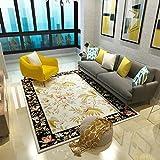 Tapis de motif de fleur chinoise Tapis de salon/chambre à coucher Tapis de canapé/table à café minimaliste élégant (Couleur : D, taille : 1.2M×1.6M)...