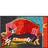 Efia Design-Fußmatte Resting Place 75 x 50 cm Rosina Wachtmeister