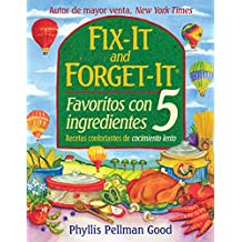 Fix-it and Forget-it Favoritos Con 5 Ingredientes (Fix It and Forget It)