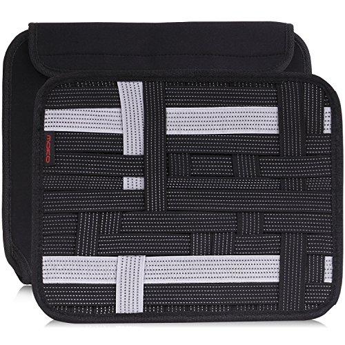MoKo Multifunktions Tragbare Reisetasche Organizer Tasche Case Hülle mit Großem Verstauen Bewahrungstasche/Griff für Electronisches Zubehöre, Festplatte, 10