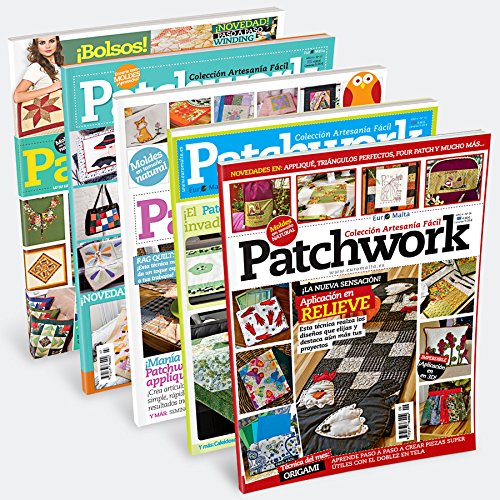 Pack Oferta 6 revistas de Patchwork