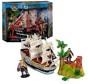 JUINSA Barco Pirata con Accesorios 83910.0