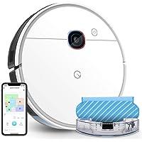 yeedi 2 hybrid Saugroboter mit Wischfunktion, Visual-SLAM-Navigation, 2500 Pa Saugleistung, Raumkarte, 200 min Laufzeit…