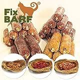 ebarf Katzen-Barf Komplett-Paket 4,5kg incl. Fix-Barf Komplett-Menüs Huhn/Rind, Geflügel, Rind/Pferd, Pute/Alaska-Seelachs