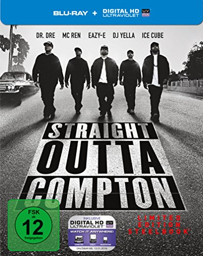 Straight Outta Compton: Limited Steelbook [Blu-ray] [Limited Edition]