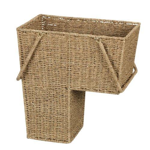 Household Essentials Seagrass Treppe Korb mit Griff