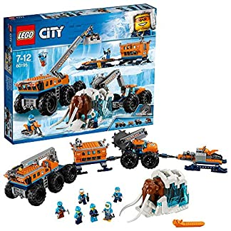 LEGO City- Ártico: Base móvil de exploración City Arctic Expediti Juego de construcción, Multicolor (60195)