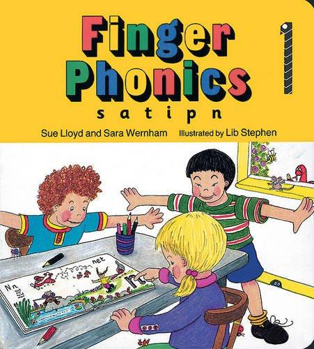 Finger phonics book Per la Scuola elementare Con espansione online: 1 (Jolly Phonics: Finger Phonics)