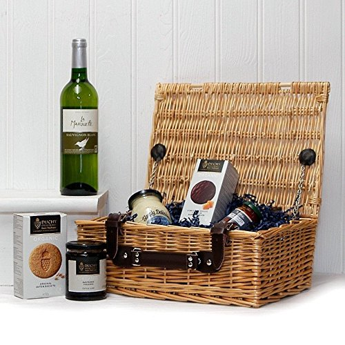 The Organic Fine Food and Wine Gift Hamper - Gift Ideas for Valentines, Mother's Day, Birthday, Anniversary, Business and Corporate
