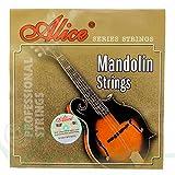 Alice Jeu de cordes pour mandoline aM03plaqué acier alliage cuivre résistantes