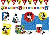 Procos 10118239 Kinderpartyset Disney Mickey Mouse Super Cool