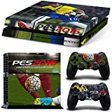 Golden PES Pro Evolution Soccer 2016 Game Skin Decals for PlayStation PS4 Console + Controllers by Golden
