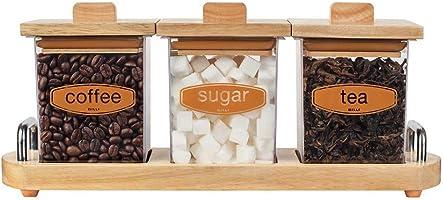 Billi Coffee,Tea and Sugar Canister Set