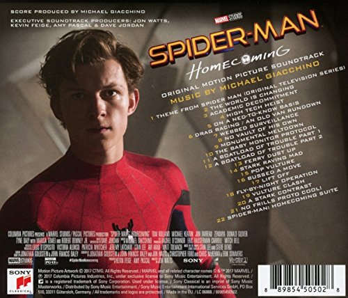 Image of Spider-Man: Homecoming (Original Motion Picture Soundtrack)