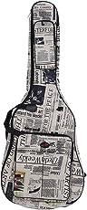 ammoon Custodia Chitarra Impermeabile Panno di Oxford 600D Giornale Style Cinghie Imbottite con Cuciture Doppie per 41Inchs Chitarra Custodia Acustica Chitarra Classica