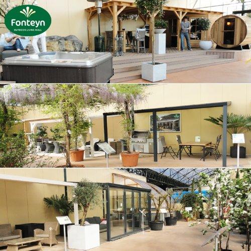 Hochwertige ALU Terrassenüberdachung/Veranda - 550 x 300 (BxT) / Überdachung/Pergola Palram Feria Weiß - 4