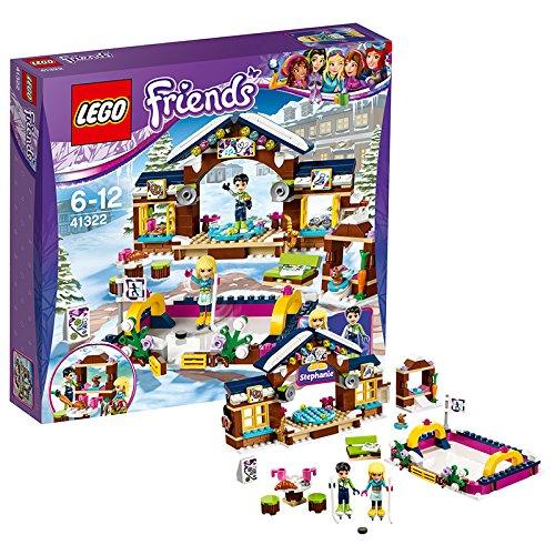 Preisvergleich Produktbild LEGO Friends 41322 - Eislaufplatz im Wintersportort