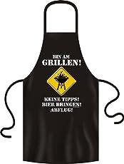 RAHMENLOS No-Compromise ® Grillschürze Schürze Latzschürze Bistroschürze Küchenschürze Kochschürze