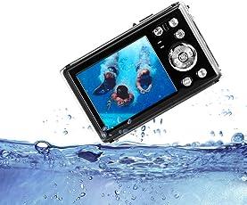 """HG8011 Wasserdichte Digitalkamera/ 4X Digital Zoom/ 12 MP/ 1080 P FHD/ 2,31"""" TFT LCD Bildschirm/Unterwasserkamera für Kinder/Jugendliche/Studenten/Anfänger/ältere Menschen"""
