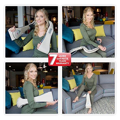 Donnerberg NM-089 appareil de massage shiatsu pour nuque, épaules, dos, abdomen, mains, jambes, pieds   Notre avis sur l'appareil de massage Donnerberg ?